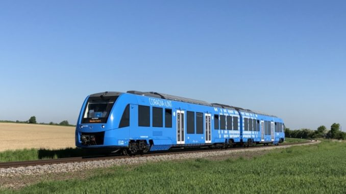 Rifornimento idrogeno per treni Alstom. In Assia prima stazione