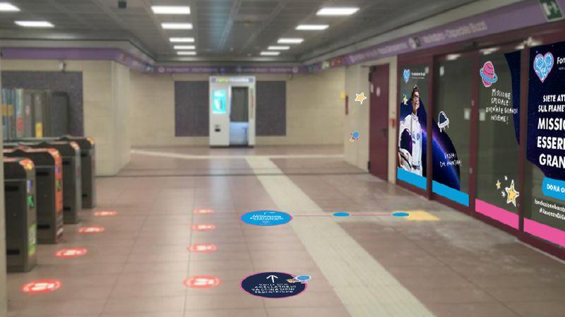 "Metro 5 di ATM: a stazione ""Gerusalemme"" spazio vaccinazioni pediatriche"