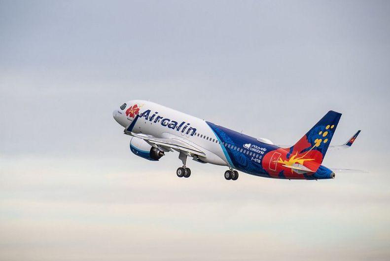 Airbus, ad Aircalin di Nuova Caledonia primo A320neo