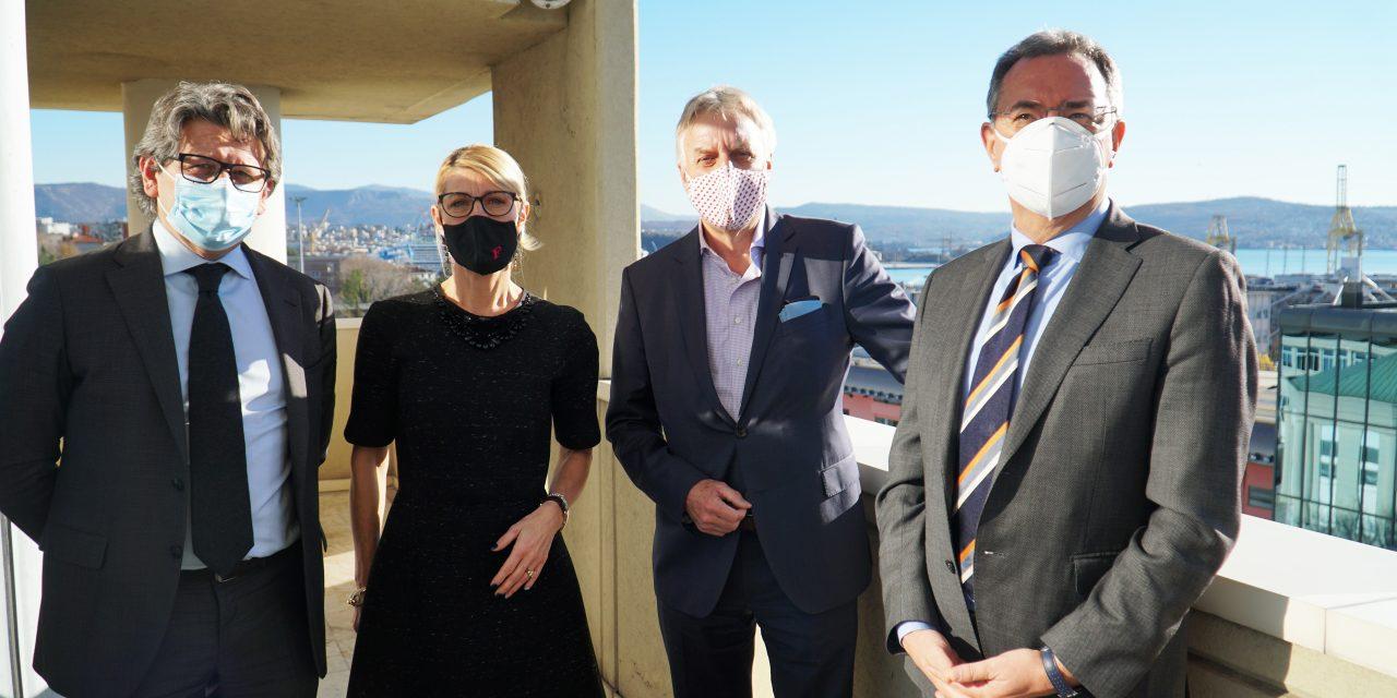 Trieste, accordo Friulia-Duisport per 15 per cento quote Porto