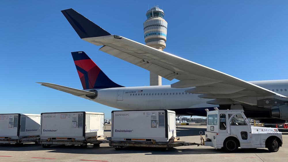 Delta Air Lines, pronta per trasporto vaccini Covid nel mondo
