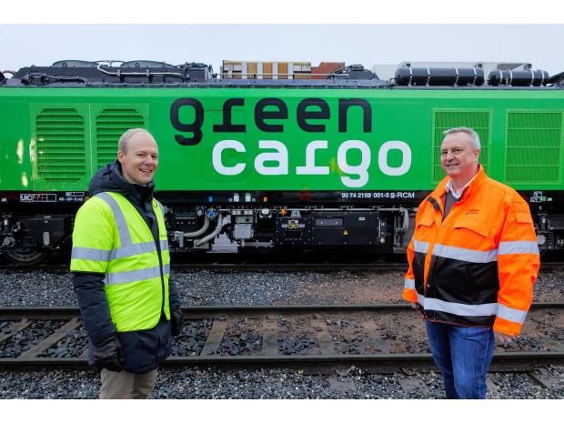 "Green Cargo, locomotive ""Eurodual"" prima volta in Paesi nordici"