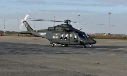 AMI, primo elicottero HH-139B consegnato da Leonardo