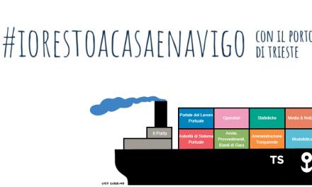 Gli Auguri dell'AdSP Mare Adriatico Orientale Porti Trieste e Monfalcone