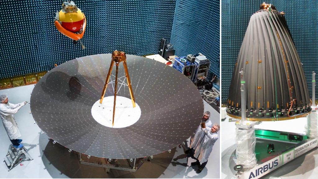 Airbus, primo riflettore pieghevole per satelliti radar