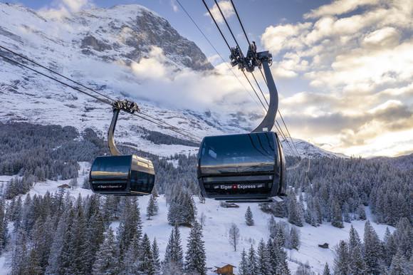 Svizzera, nuova spettacolare cabinovia per il ghiacciaio dell'Eiger. Tempi di salita ridotti di 47′