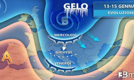 Meteo, in arrivo da domani in Italia grande freddo con neve anche a bassa quota
