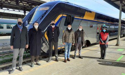 "Emilia-Romagna, treno ""Rock"" completa flotta rinnovata linea Porrettana"