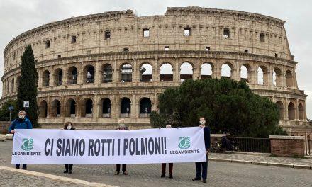 Legambiente Lazio, report Mal'Aria impietoso per Roma e Frosinone