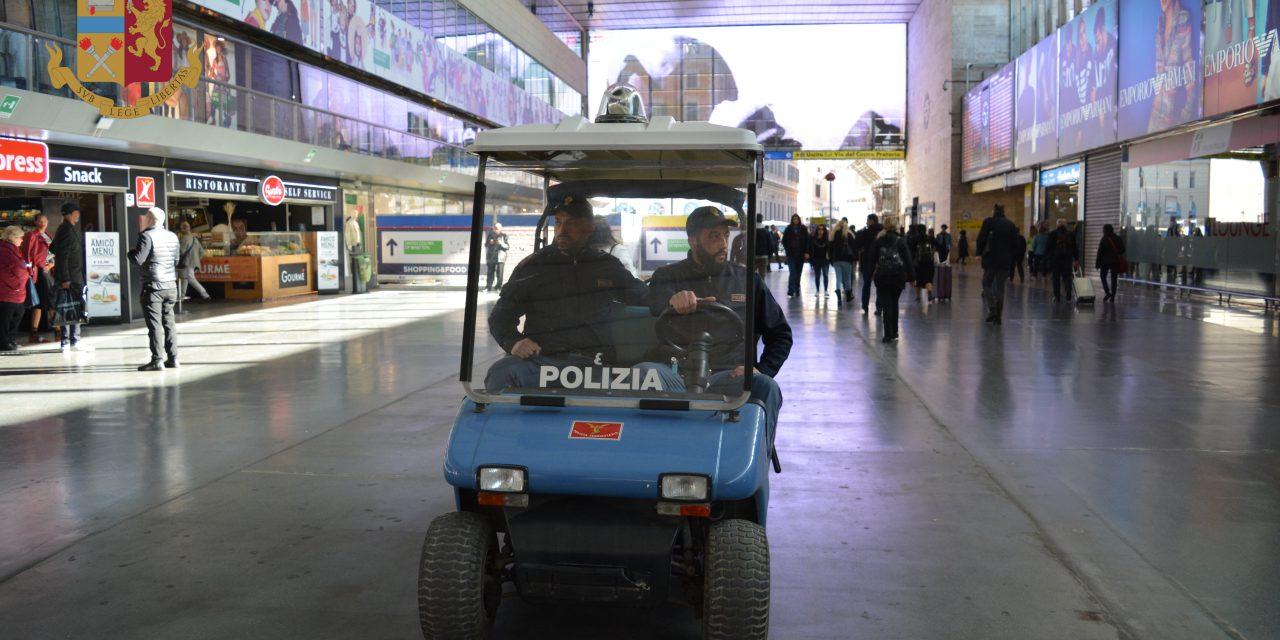 Polfer Lazio, il bilancio di reati e operazioni di polizia nel 2020