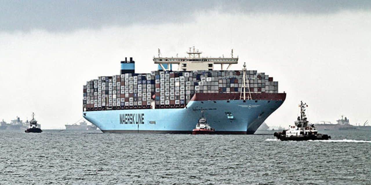 """Maersk, prima nave al mondo a """"emissioni zero"""" nel 2023"""