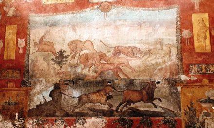 Pompei, restaurato affresco giardino della Casa dei Ceii