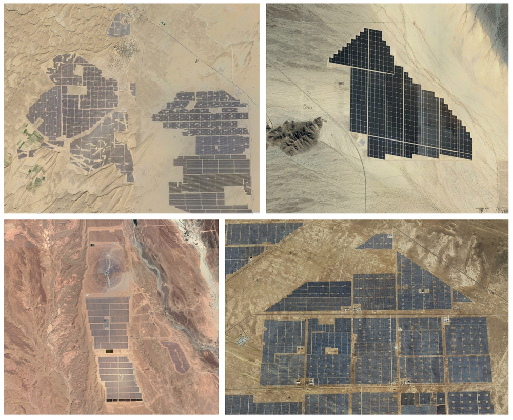 pannelli solari nel sahara