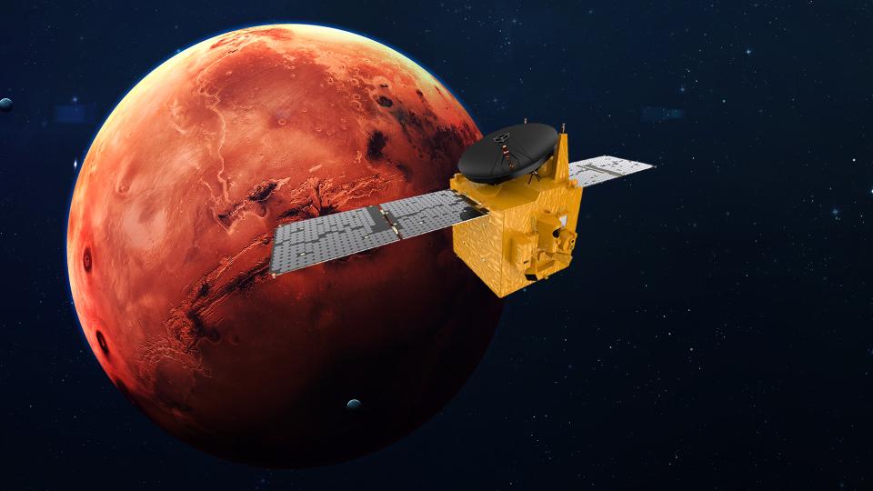 Hope, la sonda degli Emirati Arabi Uniti, è entrata nell'orbita di Marte