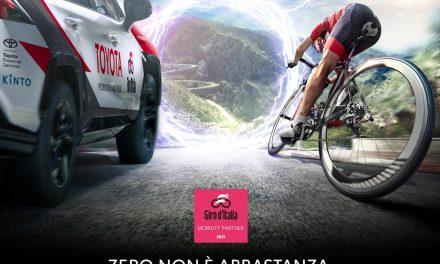 Giro d'Italia 2021, annunciata Toyota come Mobility Partner