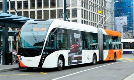 Filobus EXQUI 18 T Van Hool per la nuova linea Pescara-Montesilvano