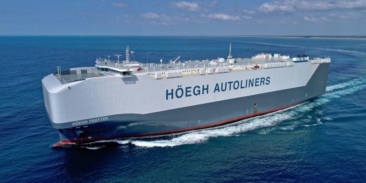 Höegh Autoliners, da Göteborg servizio marittimo diretto Svezia-Sud Africa-Oceania