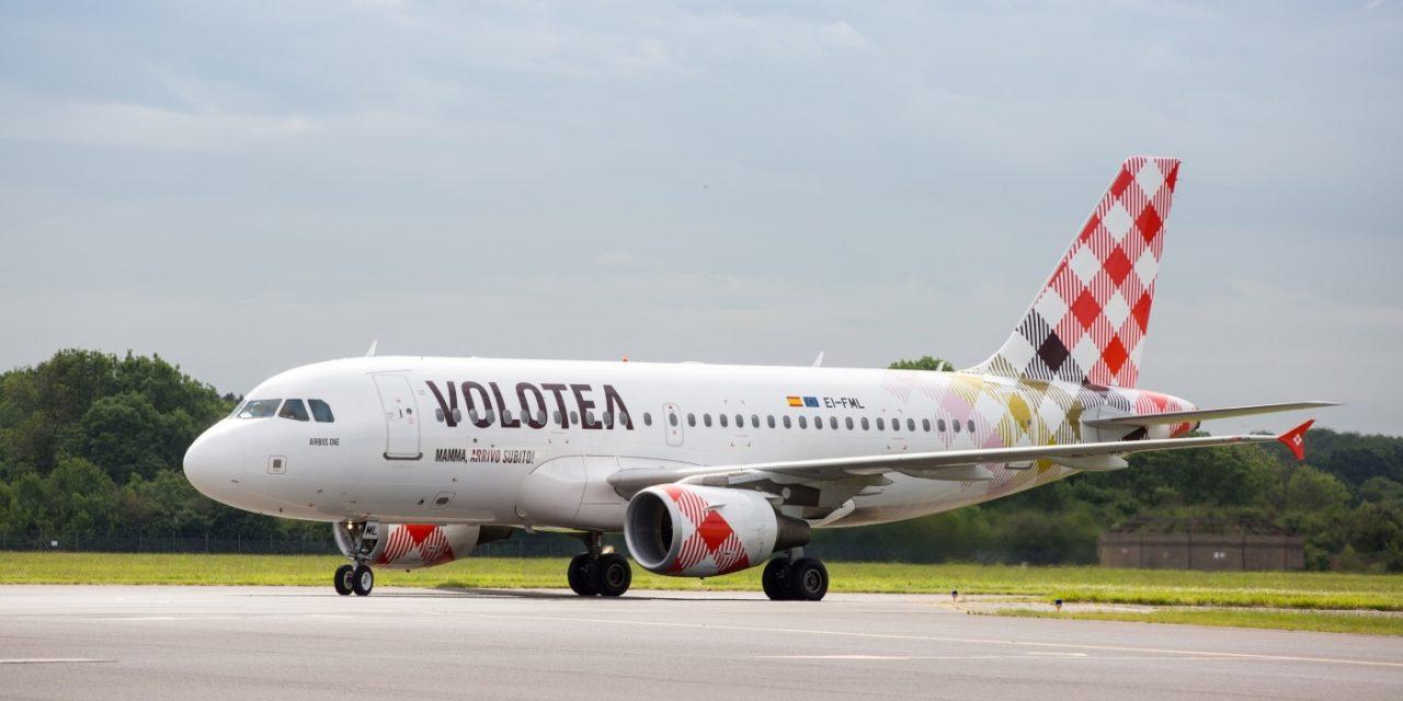 """Volotea, """"Summer 21"""" da e per Cagliari: incremento capacita passeggeri +19%"""