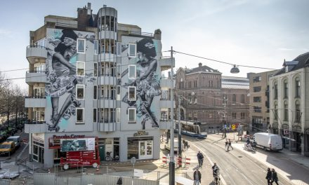 Dall'Italia, street art mangia-smog arriva nei Paesi Bassi