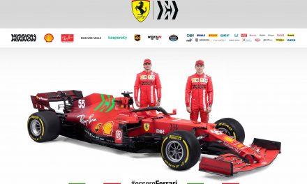 F1, ecco la Ferrari SF21 di Leclerc e Sainz