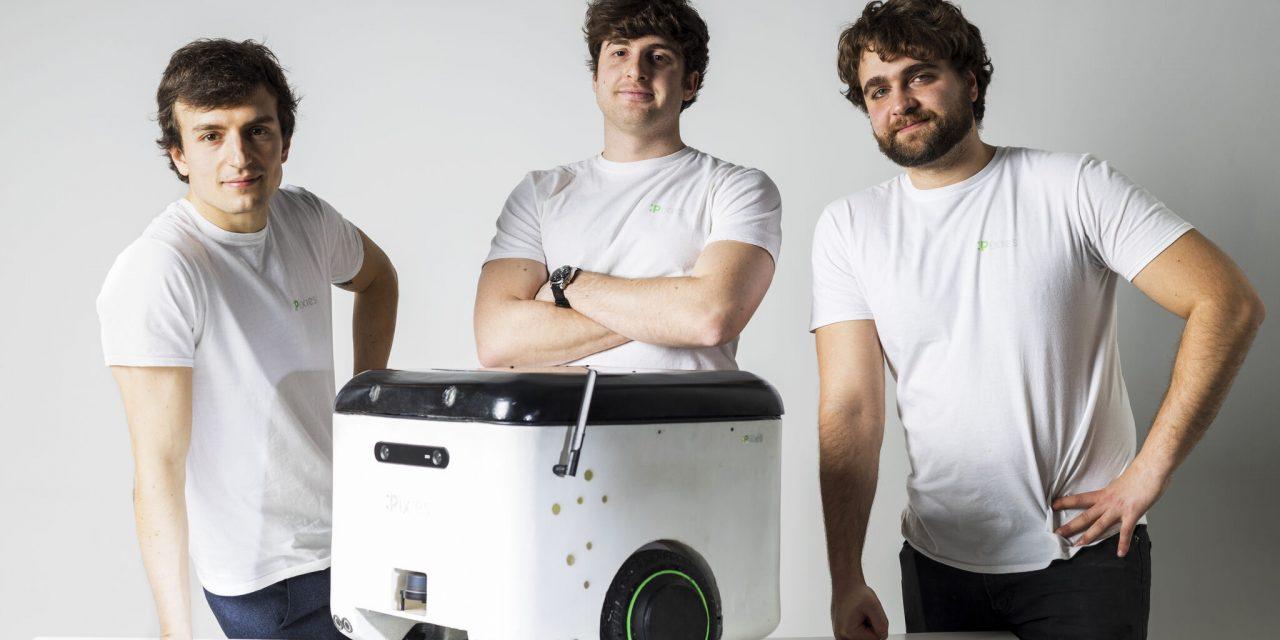Pixies: startup ecologica che pulisce la città