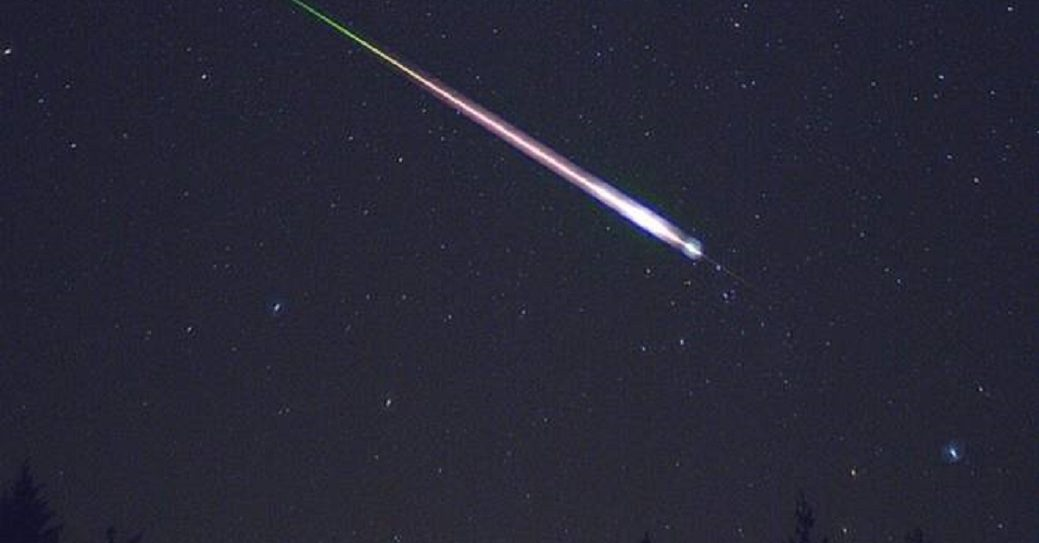 Frammento di meteorite caduto in Molise