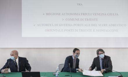 Porto Vecchio Trieste, riqualificazione e sviluppo: accordo Regione-Comune-AdSP