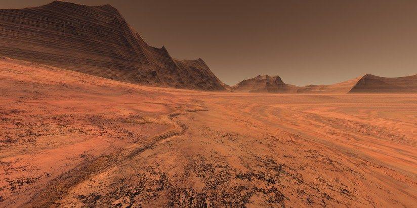 Marte: sottosuolo può ospitare vita microbica