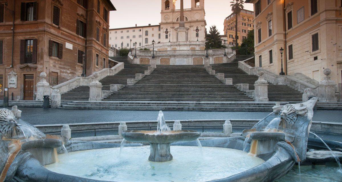 """Nanotecnologia per tutelare la """"Barcaccia"""" di Piazza di Spagna"""