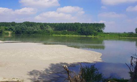 Fiume Po: livello -30% e temperature in aumento