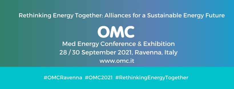 OMC – Med Energy Conference, dal 28 al 30 settembre 2021 a Ravenna