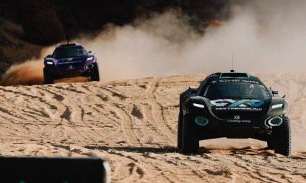 """Extreme E, nuova avventura. Rosberg Xtreme Racing vince la """"prima"""" ad Al-'Ula"""
