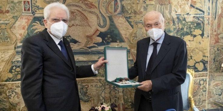 Piero Angela nominato cavaliere di Gran Croce al merito della Repubblica