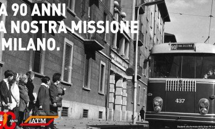 Milano: ATM compie 90 anni