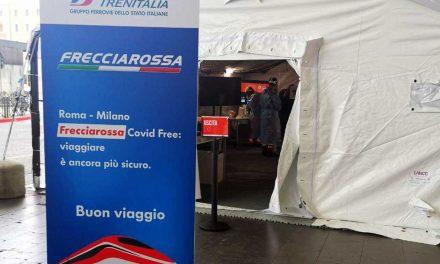 Gruppo FS-CRI, altri 8 Gazebo per tamponi gratuiti nelle stazioni dopo Milano e Roma