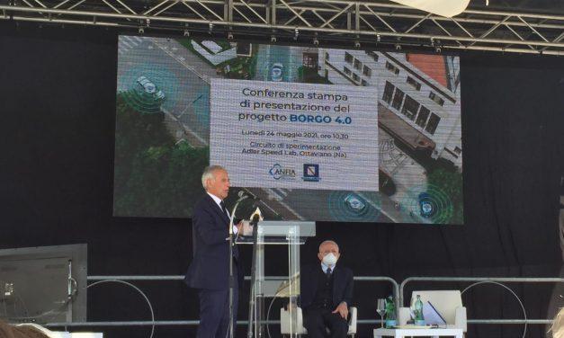 """Mobilità, progetto """"Borgo 4.0"""" in Irpinia"""