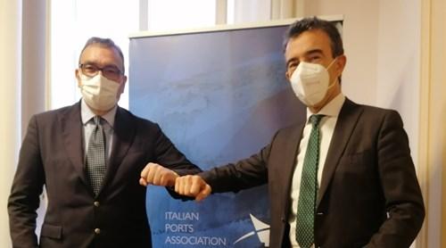 Assoporti, il neo Presidente Rodolfo Giampieri incontra a Roma il predecessore Rossi