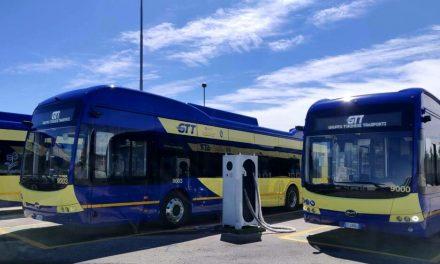 """TPL, Torino: da lunedì 24 maggio in servizio i primi 4 bus elettrici """"made in Cina"""""""