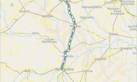 L'Alessandria-Novara si rinnova con il Terzo Valico