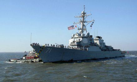 Cacciatorpediniere USA  a Odessa esercitazione marittima multinazionale nel Mar Nero