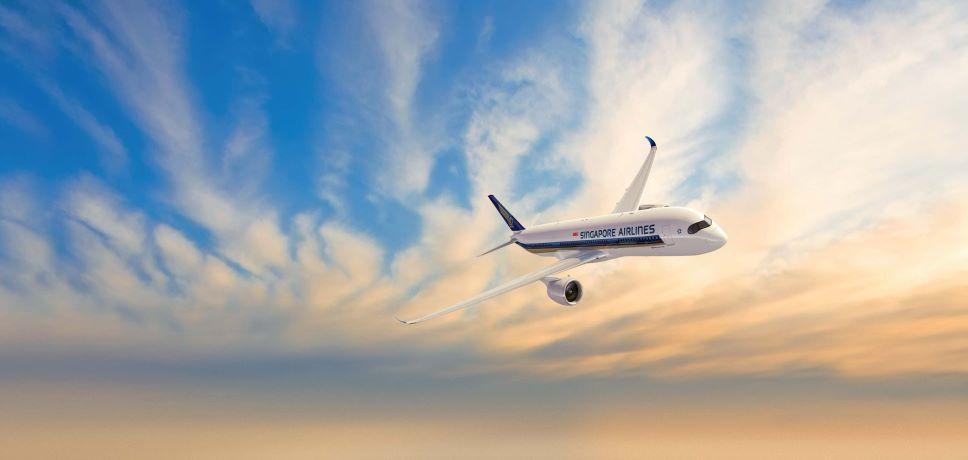 Singapore Airlines, dal 17 luglio di nuovo su Roma Fiumicino