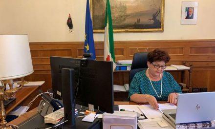 """Digital Consenso, Bellanova: """"Intermodalità via maestra per sviluppo sostenibile"""""""