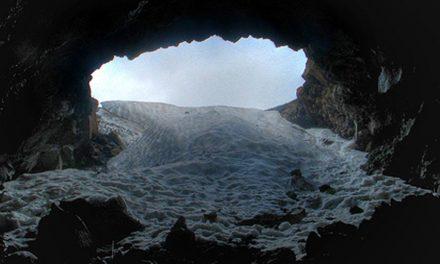 """Etna:  un """"ghiacciaio più a Sud d'Europa"""""""