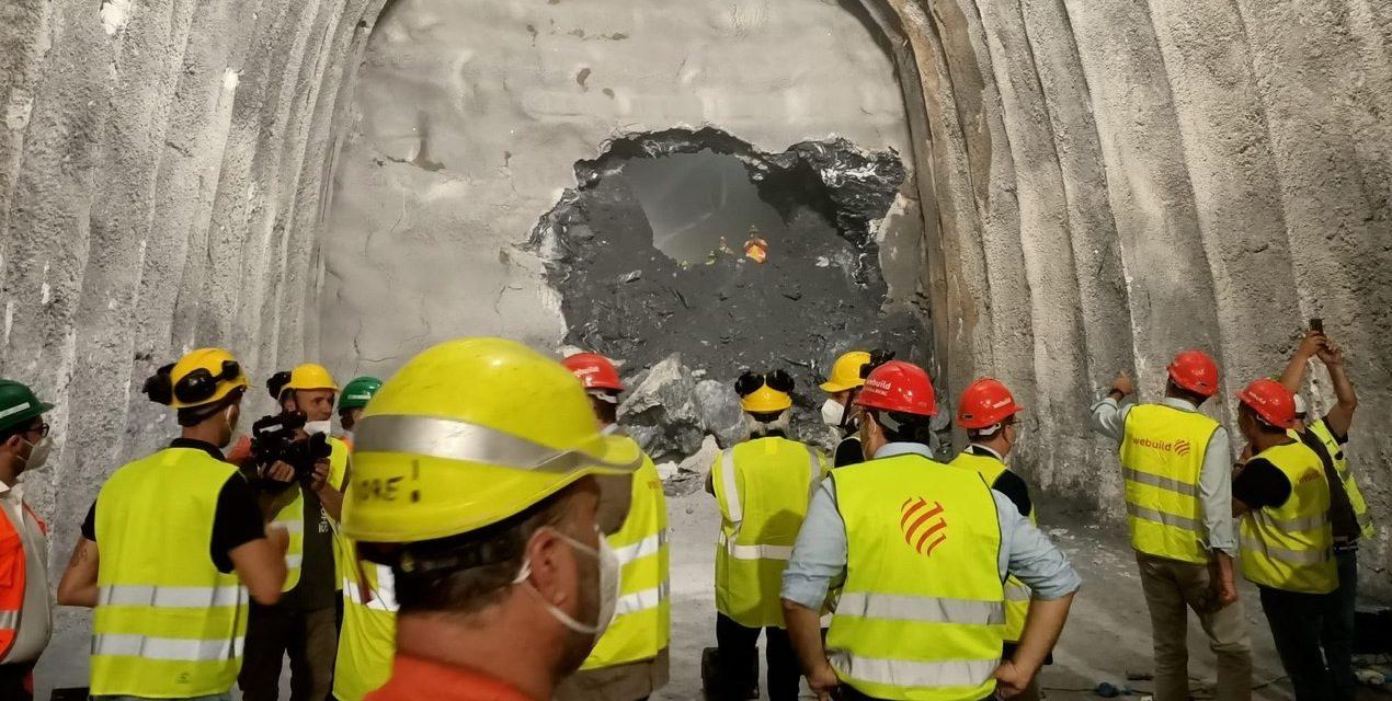 Nuova linea ferroviaria Genova-Novi Ligure/Tortona, primo breakthrough in Galleria Terzo Valico