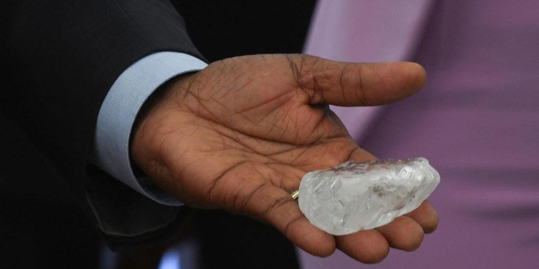 Trovato in Botzwana il terzo diamante più grande al mondo