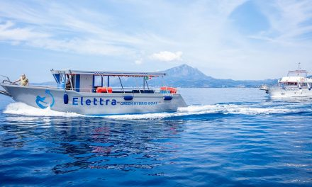 Elettra, la prima motonave ibrida in Italia