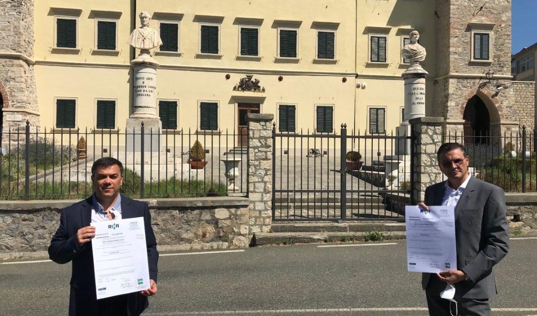ENEL, geotermia toscana certificata ISO