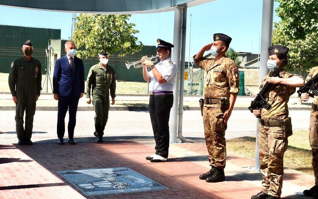 Ministro Difesa Guerini visita Comando Operazioni Aerospaziali