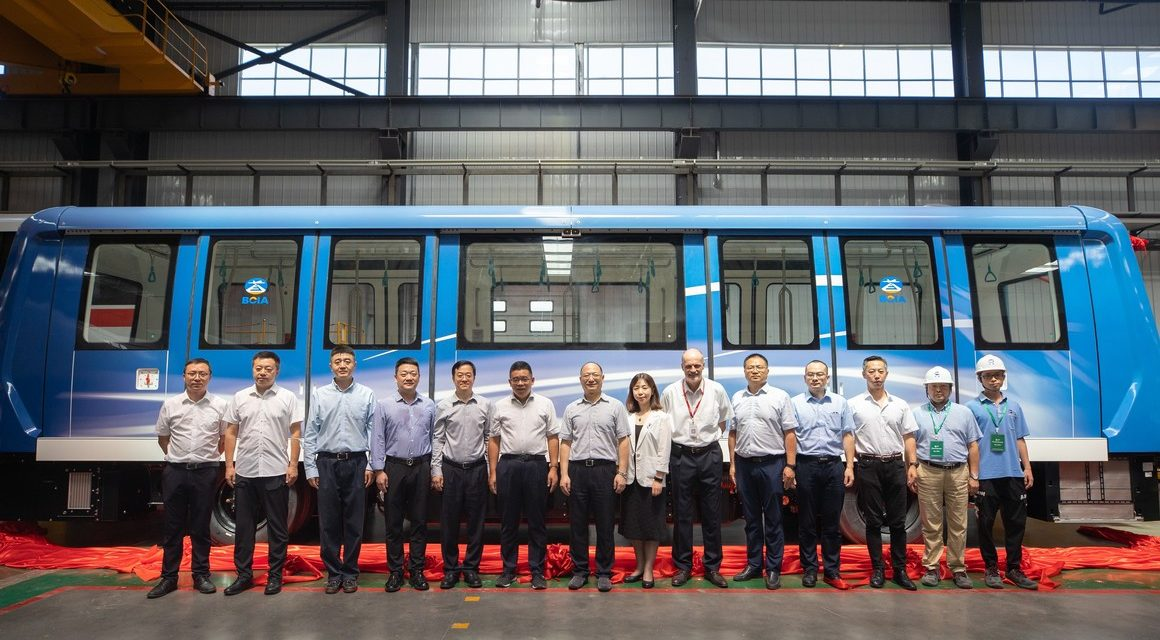 Alstom, primo treno APM (Trasportatore Automatico Persone) ad aeroporto Pechino Capital