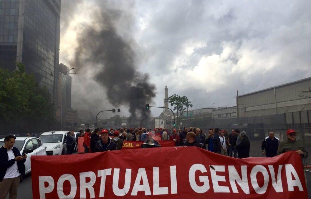 Genova: portuali in sciopero per sicurezza e carico lavoro